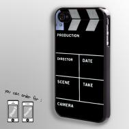 Clap Clapper Board Slate Movie Cut Hard Case Cover