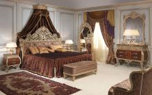 Classic Emperador Gold Bedroom Louis Style