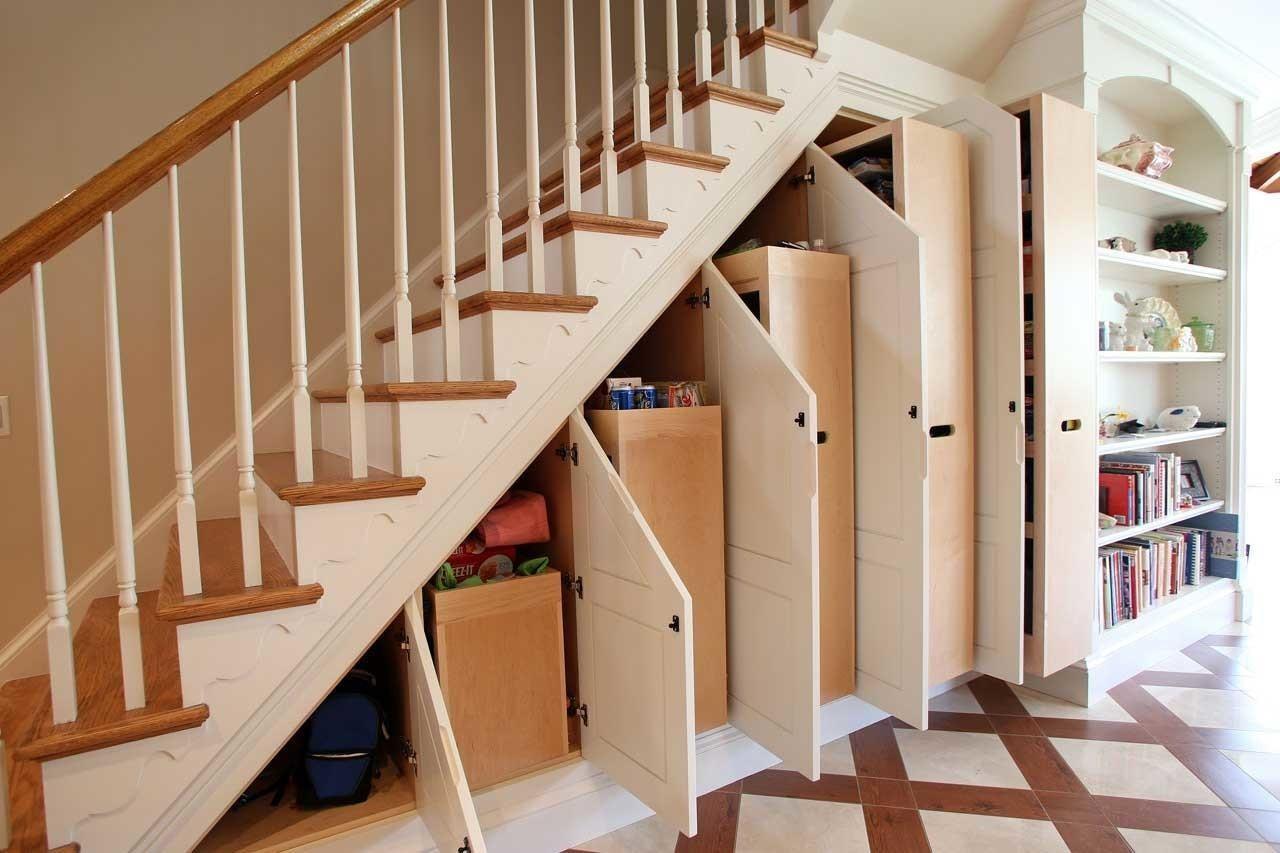 32 Dream Under Stair Storage That You Should See Today Inspire | Under Stair Garden Design | Plant | Ideas | House | Stair Case | Pebble Garden
