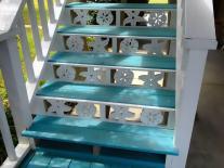 Coastal Exterior House Porch Trim