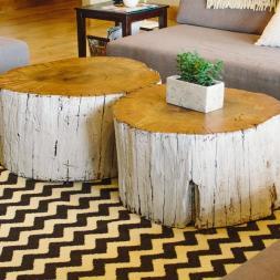 Coffee Table Amusing Stump Ideas Tree