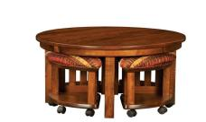 Coffee Table Benches Round Stools
