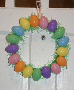 Coley Corner Another Egg Wreath
