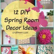 Collection Diy Spring Craft Decorating Ideas