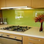 Colorful Backsplash Modern Kitchen Ideas