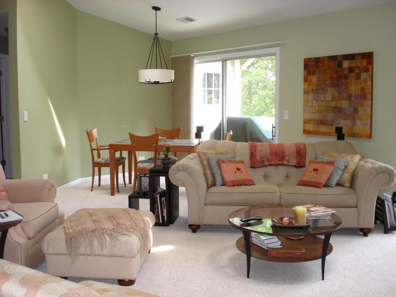 Combine Dining Living Room Design Luxury Beside