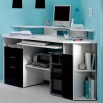 Computer Desk Ideas Small Spaces Amys Office Regarding