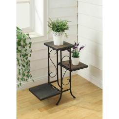 Concepts Black Indoor Plant Stand Home Depot