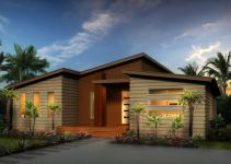 Contempo Split Skillion Roof Modern Contemporary Home