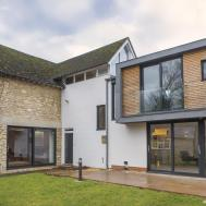 Contemporary Extension Meets Traditional House