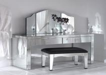 Contemporary Mirrored Furniture Adding Shine