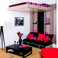 Contemporary Teenage Girl Teen Boy Beds Room Design
