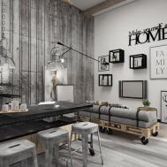Convertible Loft Sofa Interior Design Ideas