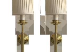 Corbett Lighting Wall Sconces Polished Brass Outdoor