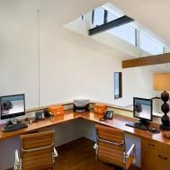 Corner Desk Home Office Loft Design Ideas