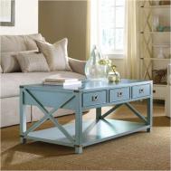 Cottage Coffee Table Elegant Trendy Materials Used