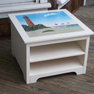 Cottage Style Coffee Table Best Beach