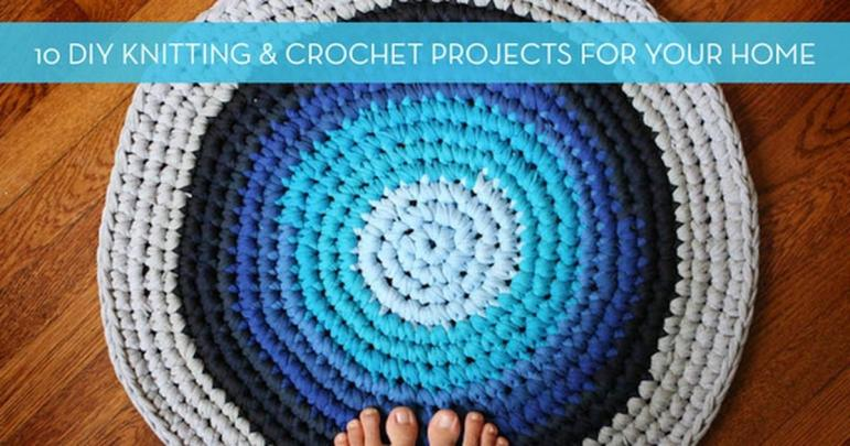 Cozy Diy Knitting Crochet Home Decor Projects Curbly