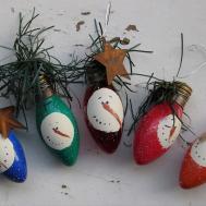 Craft Booth 555 Diy Recycled Christmas Light Bulbs Into