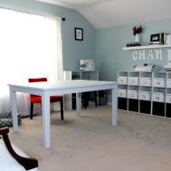 Craft Table Storage Diy Plans Wheels Hobby Lobby