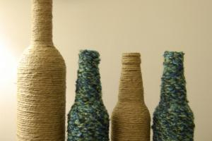 Crafting Budget Diy Wine Beer Bottle Vases