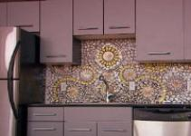 Create China Mosaic Backsplash