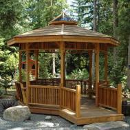 Create Comfortable Gazebo Home Garden