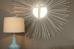 Create Sunburst Mirror