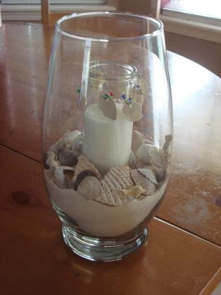 Created Awe Beachy Keen Part Beach Memory Vase