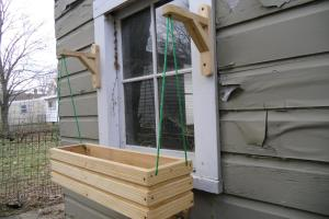 Creative Diy Outdoor Hanging Wood Window Planter Boxes