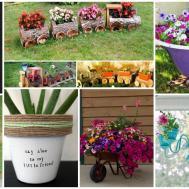 Creative Flower Planters Beautify Your Garden