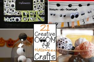 Creative Googly Eye Halloween Crafts Scrap Shoppe