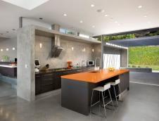 Creative Kitchen Island Designs Gray Color