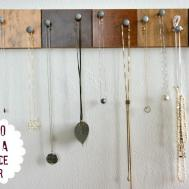 Creative Necklace Organization Ideas Thinking Closet
