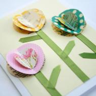 Creative Place Diy Tuesday Spring Flowers Card