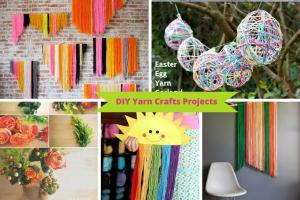 Crochet Leftover Yarn Crafts