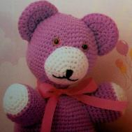 Crochet Teddy Bear Stuffed Animal Diy Lamp