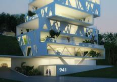 Cube Architecture Sin Fil Lebanon Orange