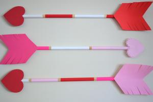 Cupid Arrow Valentine Day Diy Scratch
