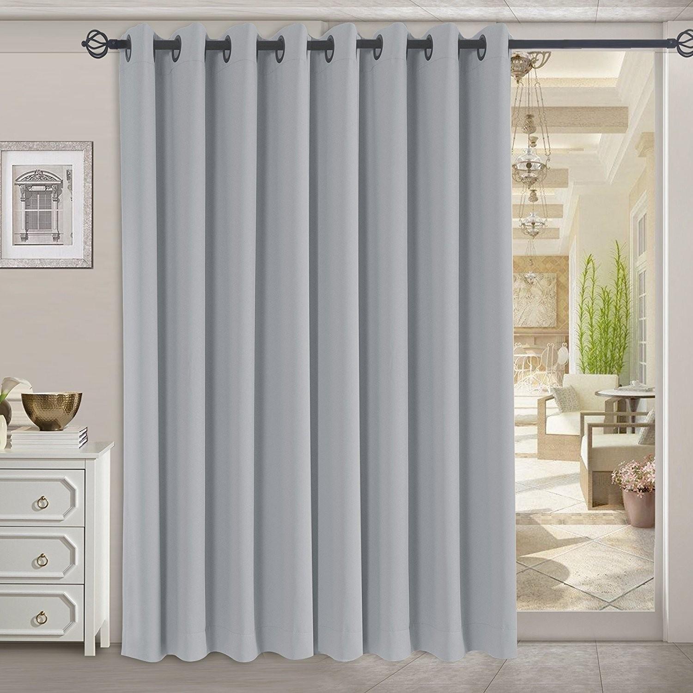 professionally curtains sliding glass