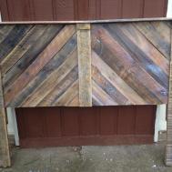 Custom Queen Headboard Reclaimed Pallet Wood