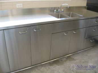 Custom Stainless Steel Commercial Kitchens