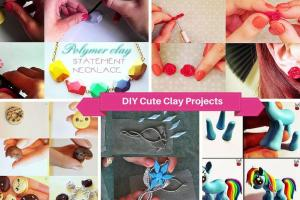 Cute Easy Diy Polymer Clay Projects