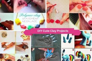Cute Easy Diy Polymer Clay Projects