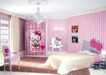 Cutest Hello Kitty Girls Bedroom Designs Decorations