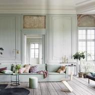 Danish Castle Mixes Old World Style Scandinavian