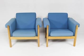 Danish Easy Chair Hans Wegner Getama Set