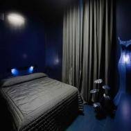 Dark Bedrooms Bedroom Blue Stars