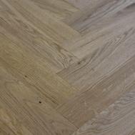 Dark Moon Tumbled Parquet Flooring Sizex280mm Oak