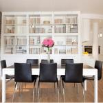 Dazzling Dining Room Designs Brick Wall